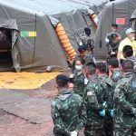 Los ocho niños rescatados en una cueva de Tailandia se recuperan sin problemas graves