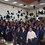 Se gradúan 162 estudiantes de Tele Bachilleratos Comunitarios
