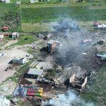 Suman 24 muertos por explosiones en Tultepec