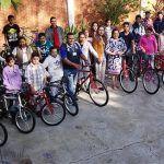 40 bicicletas a estudiantes