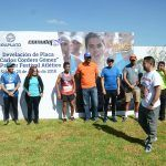 Inauguran festival atlético y pista de atletismo