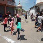 COMUDE y PC activan a niños de Rancho de Guadalupe de una manera dinámica y divertida