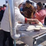 Entrega Instituto de Ecología estufas ecológicas a familias de comunidades de Pénjamo