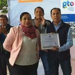 Agradece CECyTE Cuerámaro a Alcalde su apoyo durante el trienio