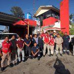 Capacitan a personal Protección Civil en el manejo y quema de fuegos pirotécnicos