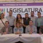 Comisión de Turismo del Congreso del Estado Sesiona en Peralta