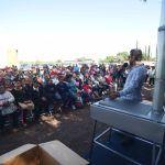 Todas las comunidades son apoyadas con programas sociales e infraestructura: José Martín López Ramírez