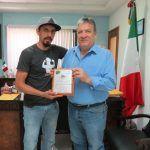 Alcalde recibe reconocimiento por parte de Xtreme Bike Huanímaro