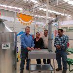 Entrega de silos y estufas ecológicas