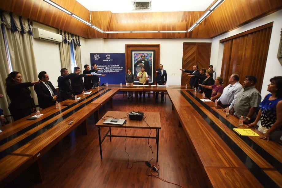Photo of Instalan comité de seguimiento a la implementación del modelo de la policía de proximidad