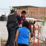 Vecinos de colonia Los Cobos conviven con policía montada