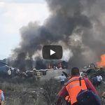Pasajero graba los momentos de pánico dentro del avión en Durango