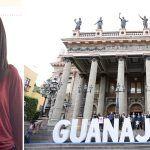 Carolina Herrera Reyes joven cantante penjamense, ganadora de la categoría Expresiones Artísticas