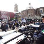 Exhiben vehículos tácticos operativos por Semana del Orgullo Policial