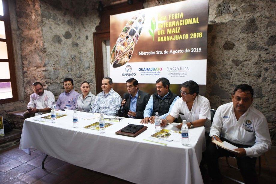 Photo of Anuncian primera edición de la Feria  Internacional del Maíz Guanajuato 2018