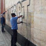 """Piden a """"Chespi"""" que deje de grafitear fachadas del Centro Histórico"""