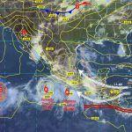 Se mantiene probabilidad de lluvias y tormentas en el estado de Guanajuato