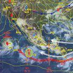 Se mantiene probabilidad de lluvias fuertes en el estado de Guanajuato