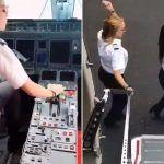 """Una piloto realiza el """"Kiki Challenge"""" más extremo con su avión"""