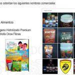 """Alerta de productos ilegales identificados por internet en el perfil de Facebook """"Lion's International"""""""