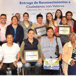 """Reconoce a 80 Guanajuatenses como """"Ciudadanos con Valores 2018"""""""