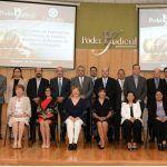 Presidenta recibe a las autoridades de USAID y Poderes Judiciales de diversos estados del país