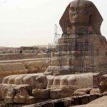 Descubren nueva esfinge en Egipto y paraliza obras de construcción