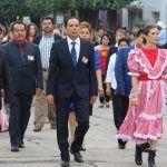 Cuerámaro festeja el 208 aniversario de la Independencia de México con acto cívico y desfile