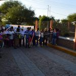Inauguran pavimentación de Calle Luis Donaldo Colosio en Comunidad la Sarteneja