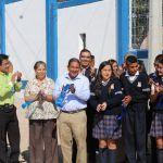 Fortalecen planteles educativos con comedores y bardas perimetrales en Pénjamo