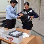 Policía municipal ha recibo durante este año herramientas para cumplir con su trabajo
