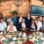 Alcalde Antonio Arredondo se reúne con líderes comerciantes
