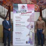 Devela alcalde Samuel Amezola bando Solemne