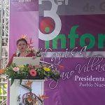 Refrenda Larisa Solórzano compromiso con neopoblanos en 3 Informe de Gobierno