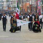 Con desfile celebran en Huanímaro 208 años de la Independencia de México