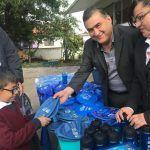 Intercambian artículos bélicos por juguetes en escuela primaria Solidaridad