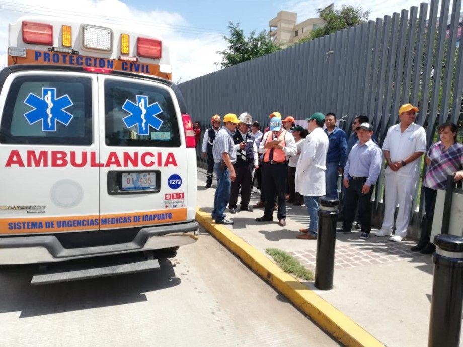 Photo of Sin incidentes se desarrolla el simulacro de sismo en Irapuato