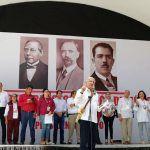 """Voy a cumplir lo prometido a pesar de que el país está en bancarrota"": López Obrador"