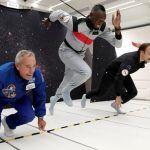 ¡Es el más rápido hasta 'en el espacio'! Usain Bolt corrió en gravedad cero