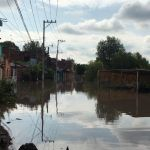 Nueva tromba azota Pénjamo; inunda viviendas