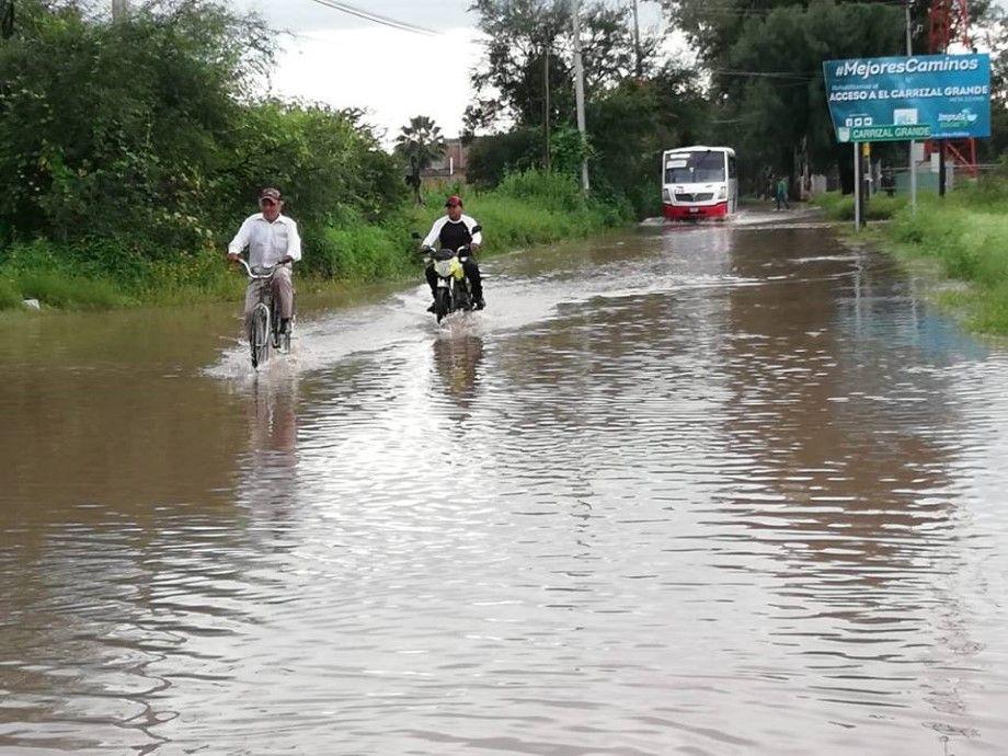 Photo of Inunda lluvia a comunidad El Carrizal Grande