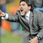 Maradona arriba a México para reportar con Dorados