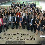 Presidenta Claudia Barrera inaugura el Encuentro Nacional de Jueces de Ejecución 2018
