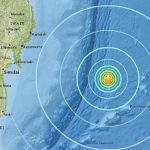 Sismo de magnitud 6.7 golpea a principal isla de Japón; colapsan edificios: 10 heridos