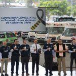 SSG realiza conmemoración Estatal de las Víctimas de Accidentes Viales