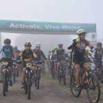 Se llevó a cabo Ruta de ciclismo de montaña en Abasolo