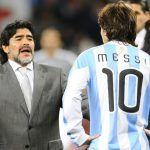 Maradona: un hombre de escándalos, el mas reciente incluye a Leonel Messi