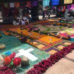 Escuelas de Cuerámaro participaron en armados de altares