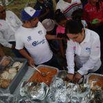 Entregan alimentos a familias afectadas por las lluvias en Santa Ana Pacueco