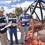 La alcaldesa Beatriz Hernández supervisa avance de construcción de los Puentes Blancos